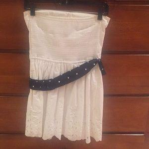 Hollister Dresses - Hollister strapless dress. Medium. White.